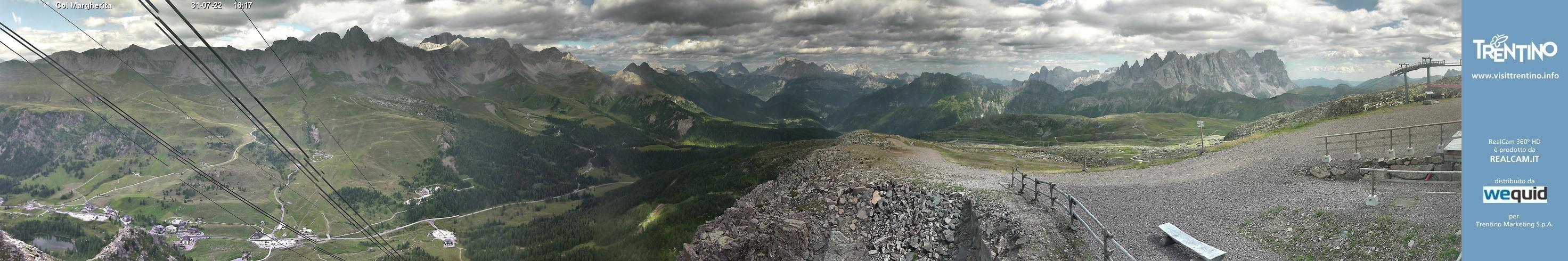 Webcam Panoramica Passo San Pellegrino-Falcade,