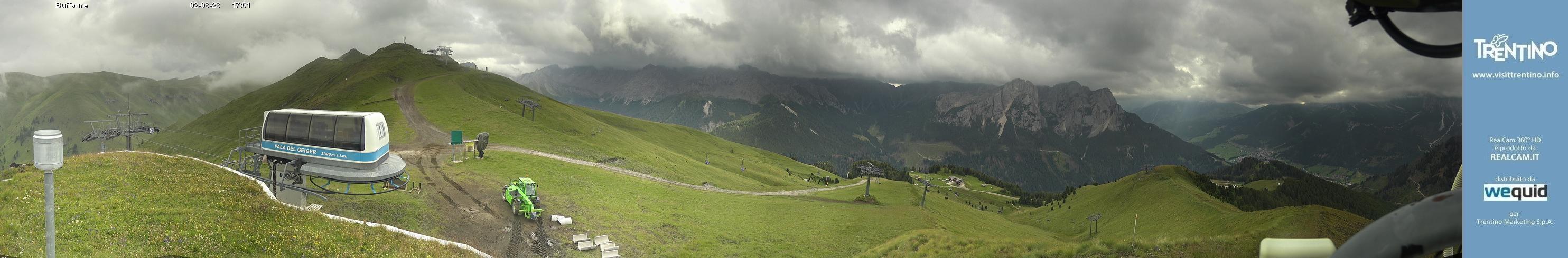 Webcam Panoramica Col de Valvacin - Buffaure, Val di Fassa
