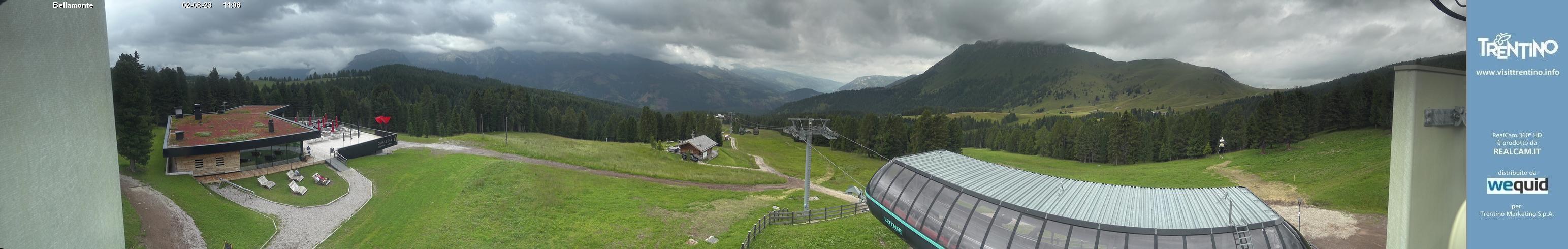 Panoramica La Morea - Bellamonte