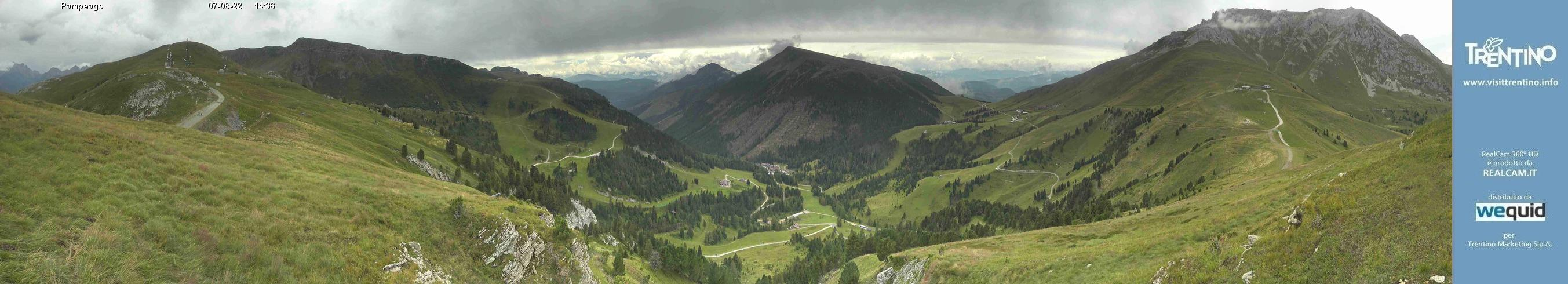 Webcam <br><span> panoramica val di fiemme</span>